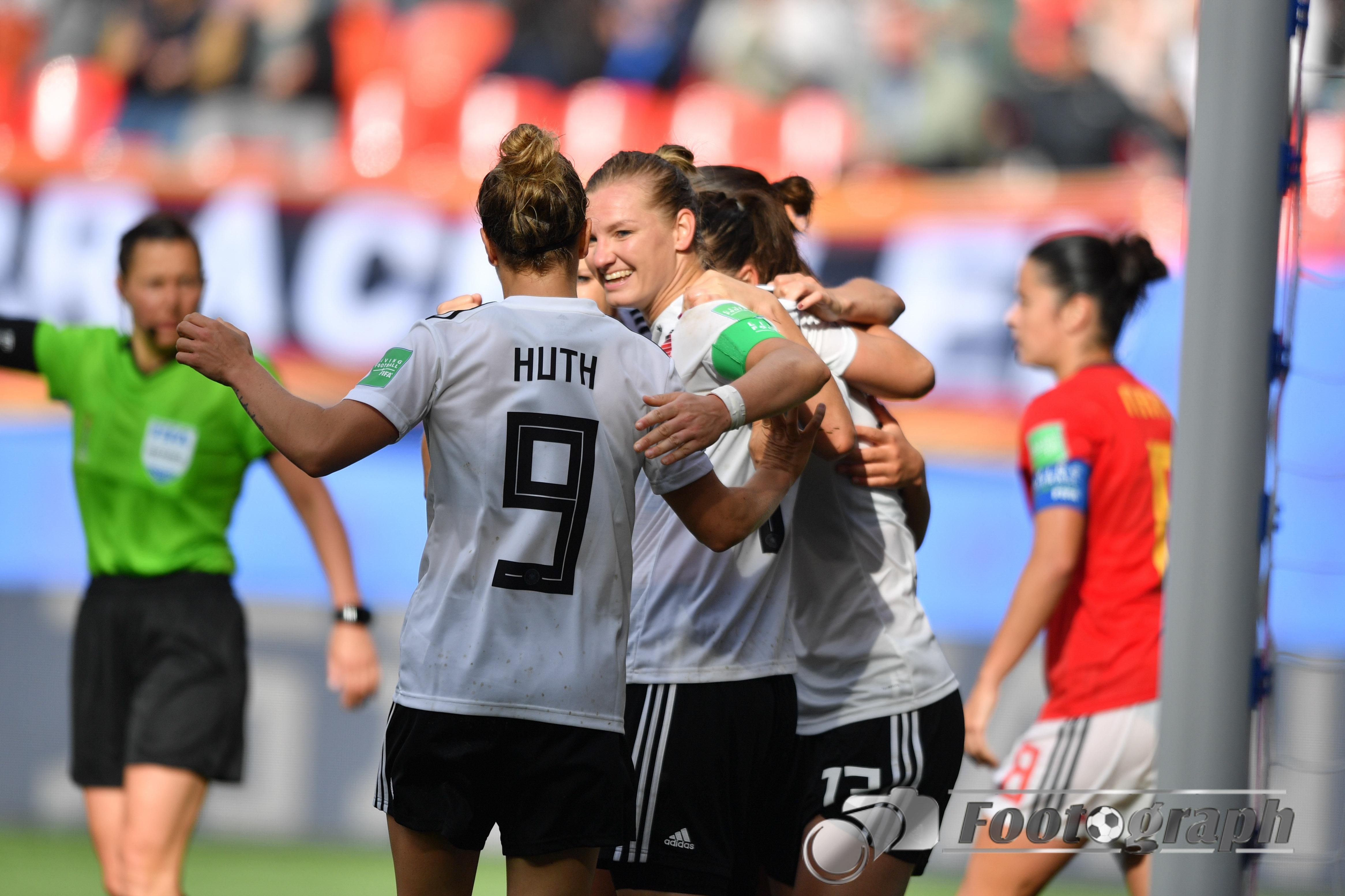 Deutschland Spanien Frauen Wm